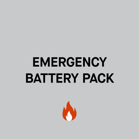 New emergency battery options available