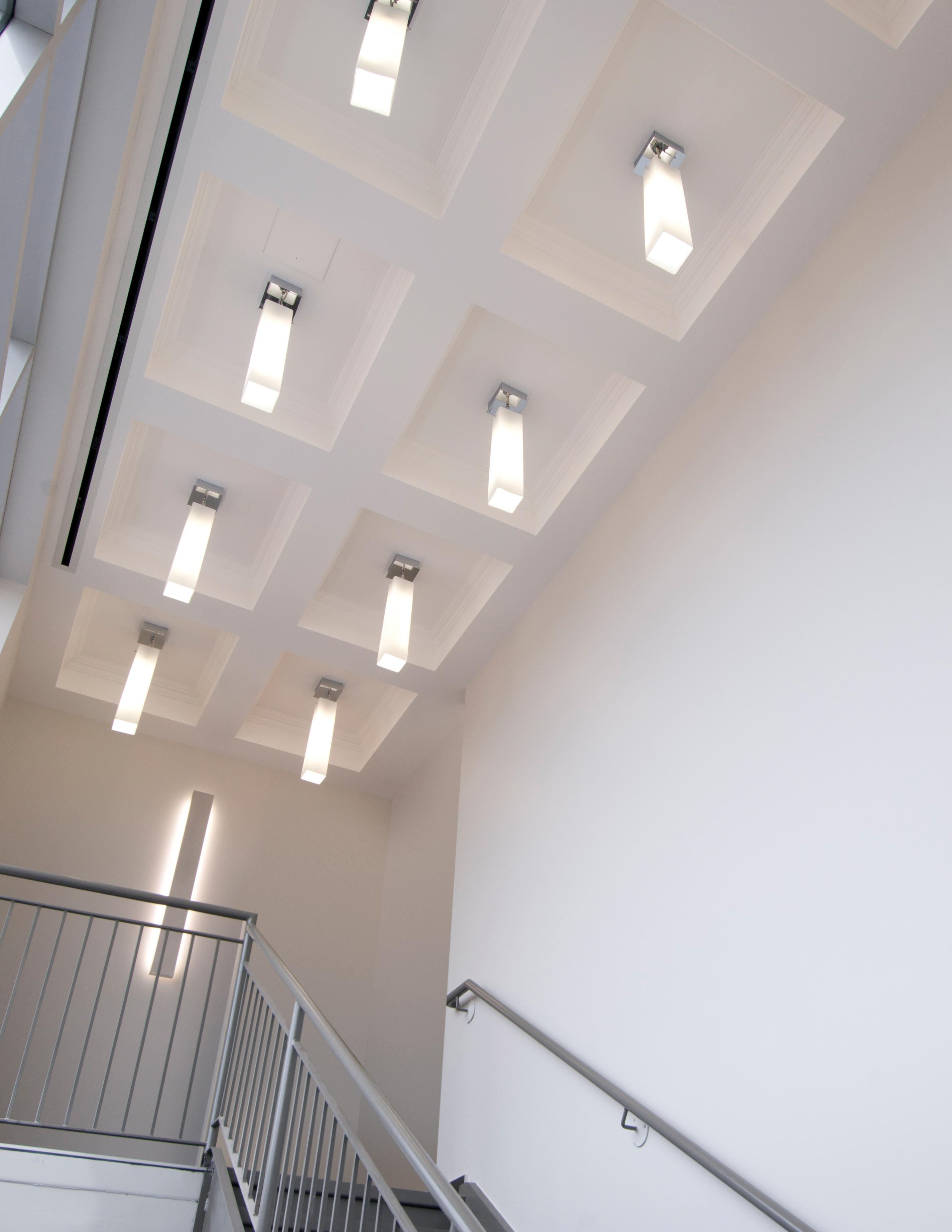 Delta 3 Light Bathroom Vanity Light: Delta Acrylic » Eureka Lighting